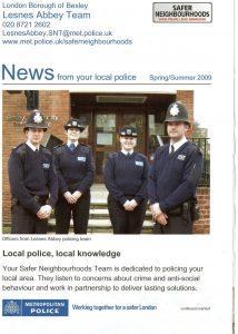 Met Police Leaflet side 1 crime prevention