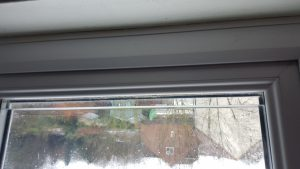 double glazed Condensation problems water in the glass