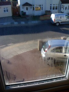 Double Glazing Condensation problems in between the glass