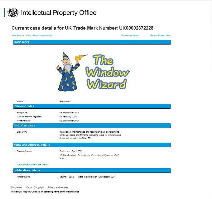 The Window Wizard, Lock Specialist & Double glazing door repair service including UPVC lock repairs