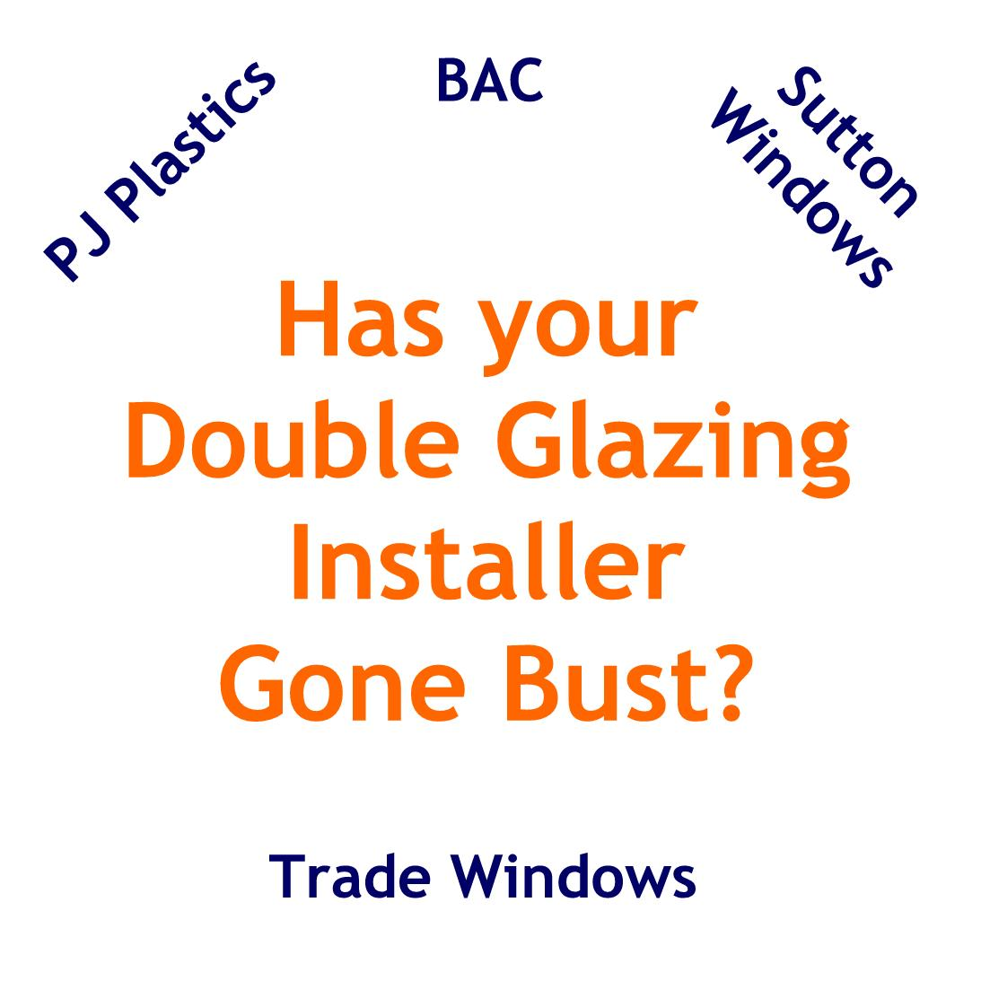 Repair service for all makes or age double glazing windows and doors including installers that have gone bust
