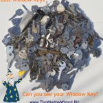 Lost Window Keys for jammed windows