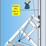 Double Glazing Maintenance Tips How to lubricate your window hinges. Double Glazing Maintenance