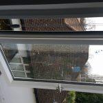 Standard window hinge not fire escape