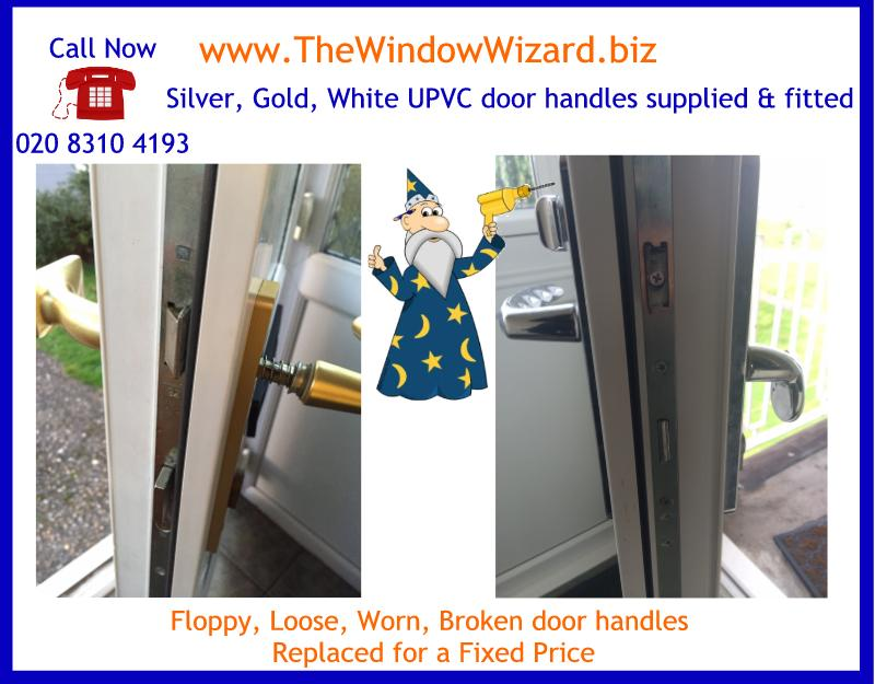 Wobbly or Broken UPVC door handles supplied and fitted