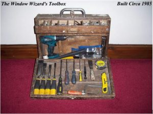 The Window Wizard About Us Double Glazing Repair Specialist ToolBox