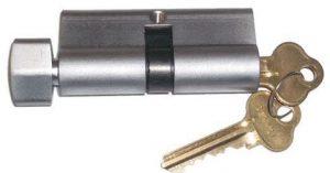 Thumb turn key lock