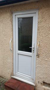 UPVC half door panel