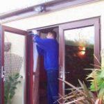 French Doors UPVC Double glazed french door repair