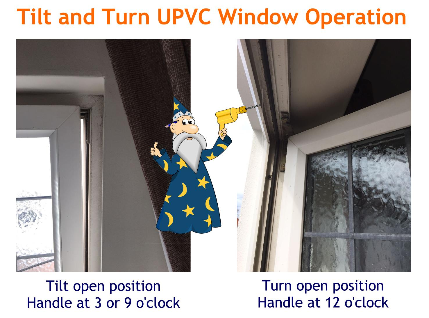 Upvc tilt and turn window repair service