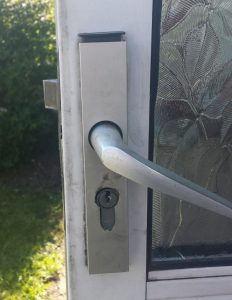Discontinued lock converted to fit existing UPVC windows and doors