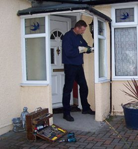 Repairs to all types of UPVC double glazed windows and doors