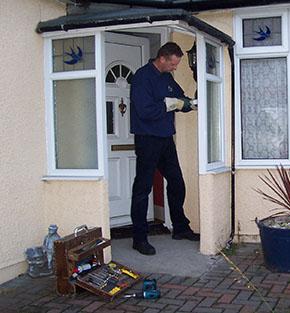 UPVC double glazed window repairman