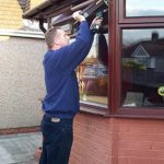 Changing the hinges on Fanlight window Side hung left and right hinges Swanley