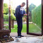 Repairing French Door Lock