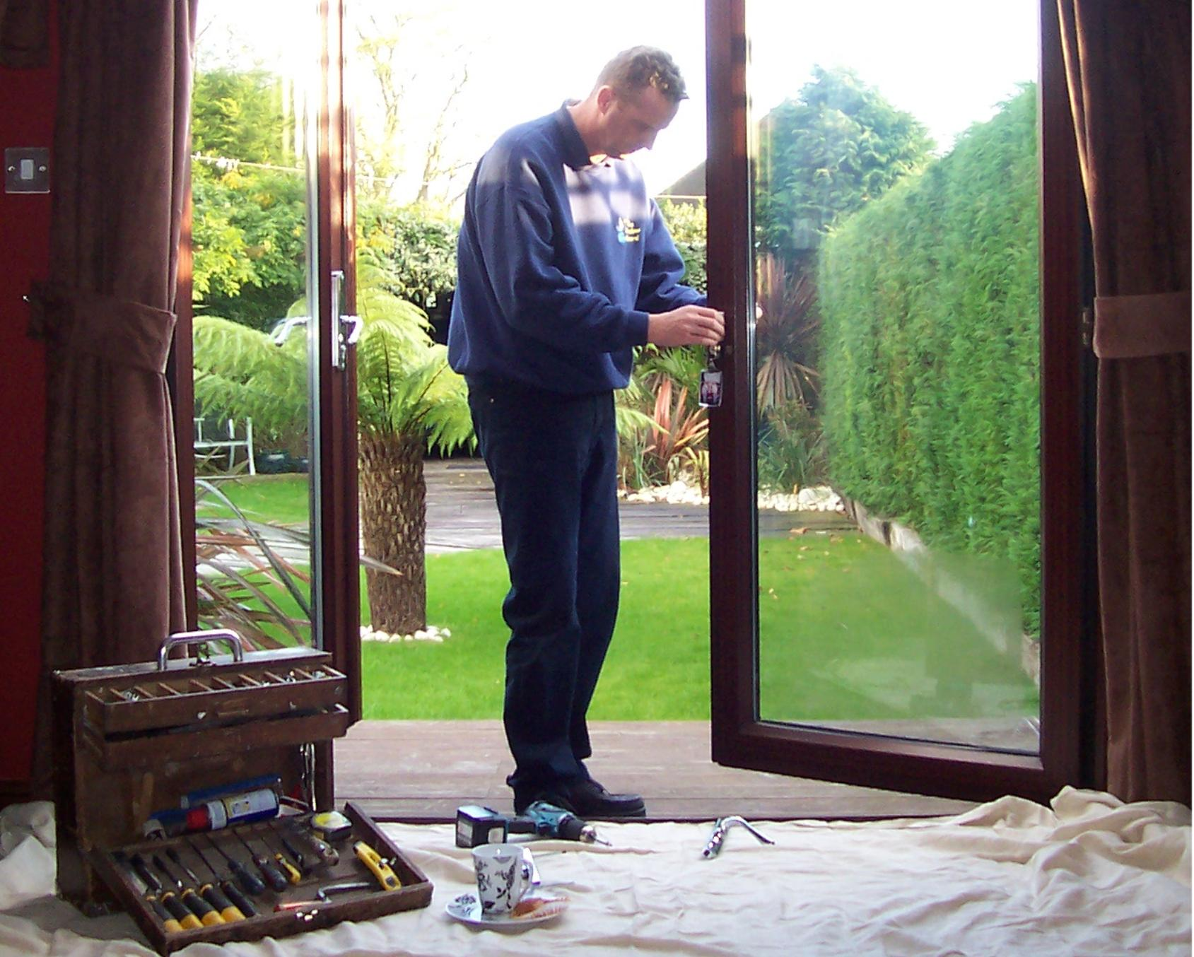 French UPVC Doors repaired and adjusted