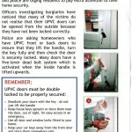 UPVC Door lock advice on how to lock your front door Bexleyheath