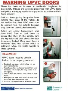 UPVC Door lock advice on how to lock your front door