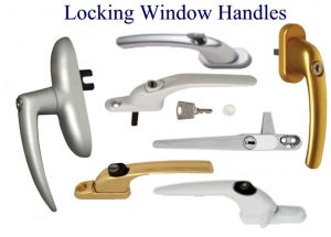 Locking window handles