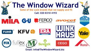 UPVC Door Lock brand logos