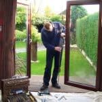 Lock Repairs to UPVC French Door and door adjustment